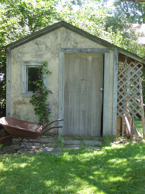 Our cute little old shed