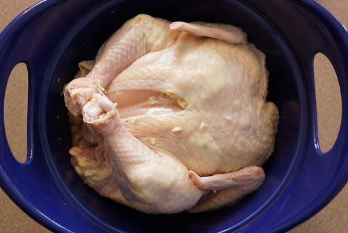 roasted chicken - perfect for making on Sunday and using in meals throughout the week