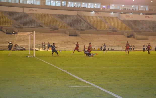 Botafogo-pb x River-PI, almeidão (Foto: Phelipe Caldas / GloboEsporte.com/pb)