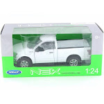2015 Ford F-150 Regular Cab, White - Welly 24063W-WH - 1/24 Scale Diecast Model Toy Car