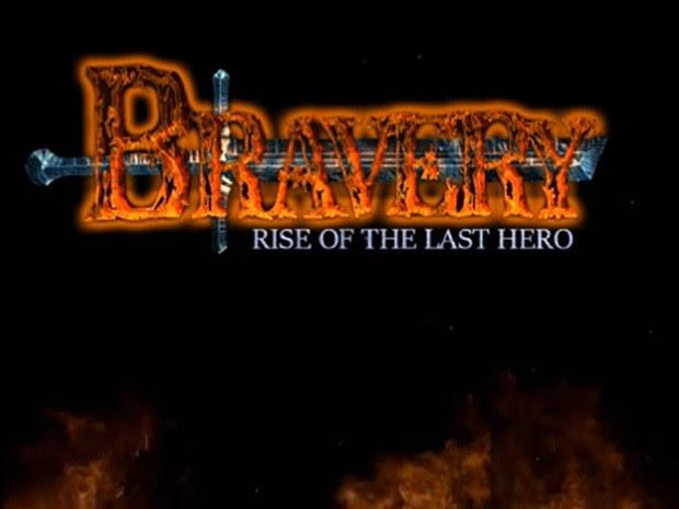 O jogo Bravery: Rise of The Last Hero foi desenvolvido por casal na Paraíba (Foto: Reprodução/Bravery: Rise of The Last Hero)