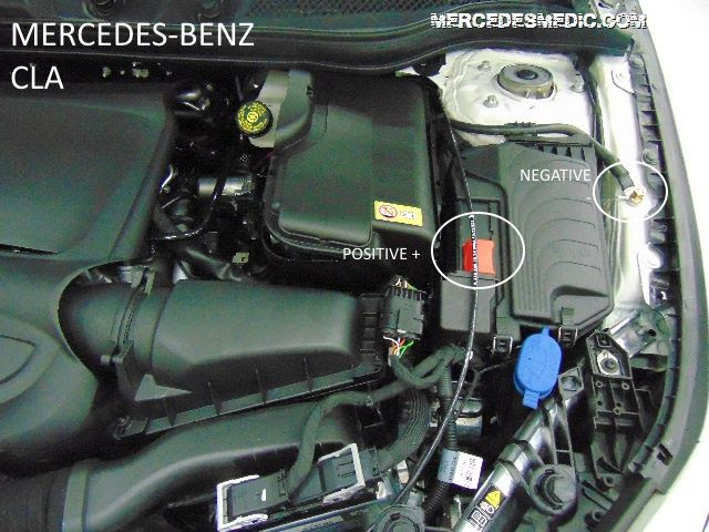 How To Jump Start Mercedes Benz The Right Way Dead Battery Mb Medic