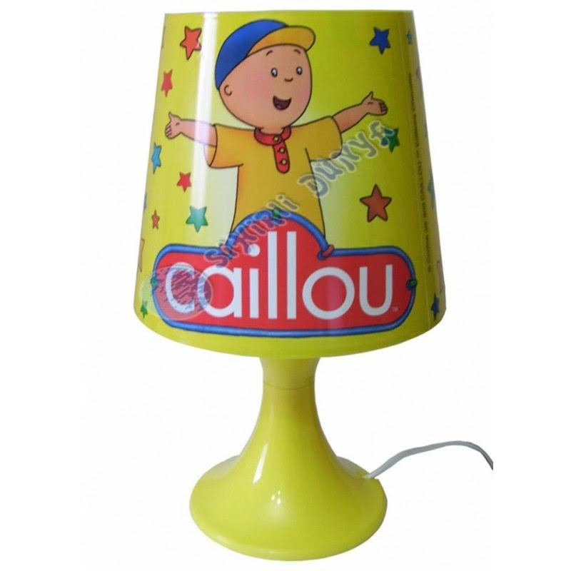 Caillou Abajur Masa Lambası 3 Farklı Renk