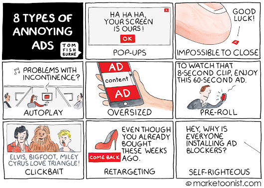 8 types of annoying ads