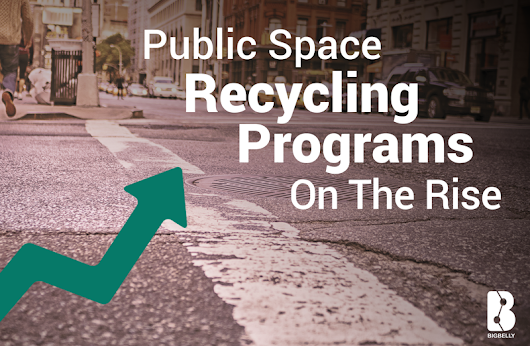 Public Space Recycling Programs On the Rise