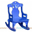 Blue Puzzle Kids Rocking Chair Surf Sun - Nany Crafts