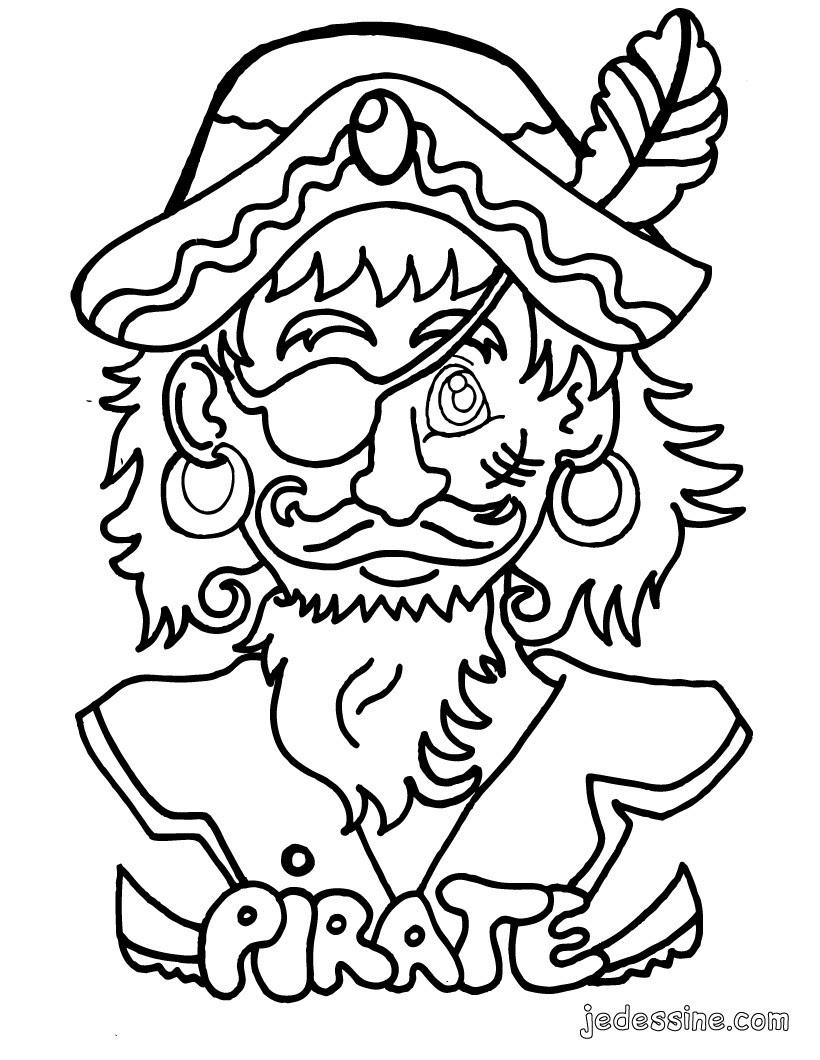 Coloriage d un pirate Coloriage Coloriage A IMPRIMER Coloriage A IMPRIMER PERSONNAGES