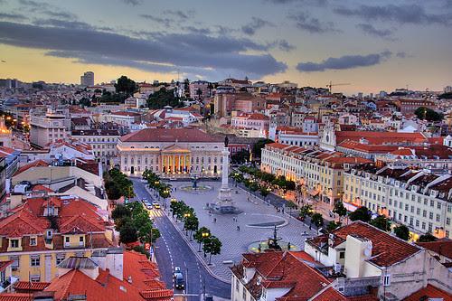Plaza de Rossio (Lisboa)
