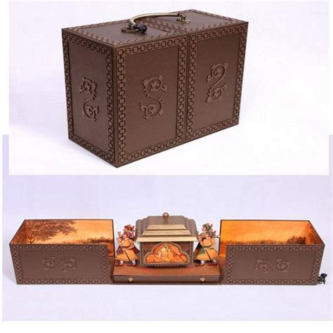 Unique Indian Wedding Invitation Boxes that WOW !   WedMeGood