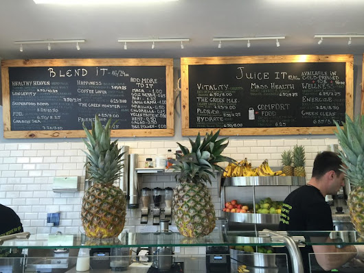 Energize Juice Bar - A Little Bit About a Lot of Things