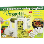 Veggetti Pro Table Top Spiral Vegetable Cutter