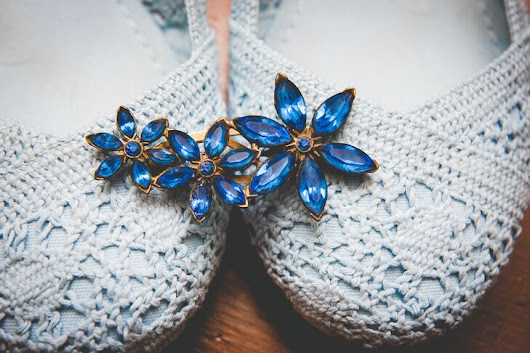 "The Sweetest ""Something Blue"" Ideas From Real Brides"