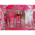 Parfums De Coeur awgpvk619 Pink Vanilla Kiss by Body Fantasies Gift Set for Women - 7 Piece