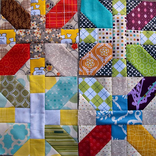 all four x&+ blocks for SLMQG charity quilt