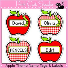 Monsters Theme Name Tags and Labels Classroom Decor | The talk ...
