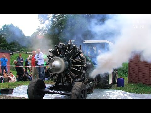 Fabulous Antonov Radial Engine Sounding Too Good To Be True