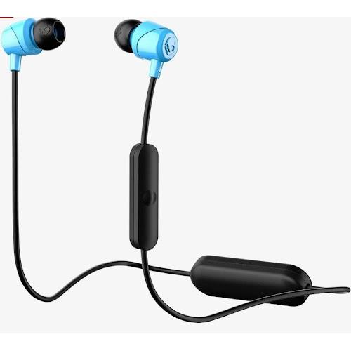Skullcandy Jib Wireless Bluetooth Earbuds with Microphone - Blue