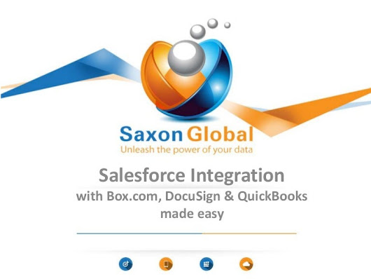 Salesforce integration with Box.com, docuSign & QuickBooks made easy
