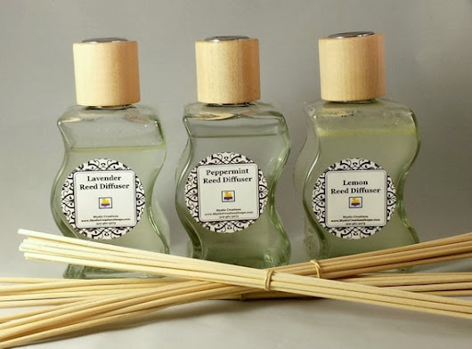 Choose any 3 Scented Reed Diffusers Reed by MysticCreationsSoaps