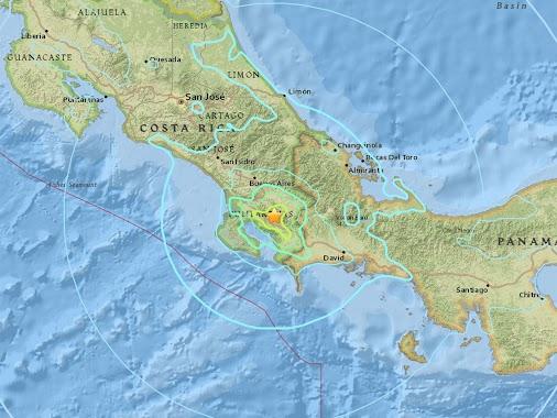 M6.0 Earthquake - Costa Rica  ****** Preliminary Report********* Magnitude 6.0 Date-Time 17 Aug 2018...