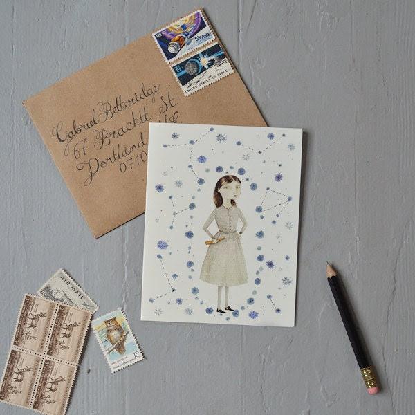 Constellations Notecard