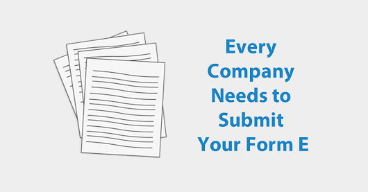 Every Company Needs to Submit Your Form E | Borang E Submission