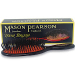 Mason Pearson Boar Bristle – Pocket Sensitive Pure Bristle Hair Brush (Dark Ruby)