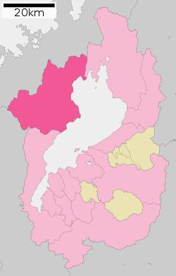 図:滋賀 高島