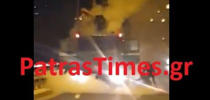Δυτική Ελλάδα: Στις φλόγες φορτηγό στην Περιμετρική στο ρεύμα προς Αθήνα (ΦΩΤΟ + VIDEO)