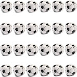 24 Packs Soft Foam Mini Soccer Balls Birthday Party Favors Squishy Stress Reliever Stress Relief Toys Decorations for Kids Toddlers Teens Adults