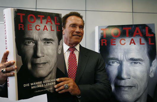 See it, believe it, achieve it! Total Recall by Arnold Schwarzenegger