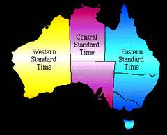 3 Zon Waktu di Australia