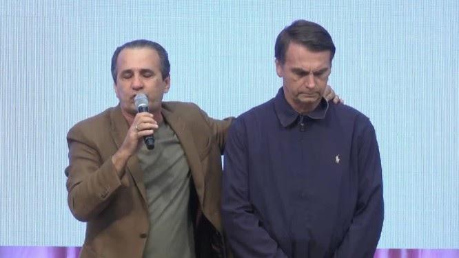 Malafaia critica Bolsonaro por deixar Magno Malta fora do ministério