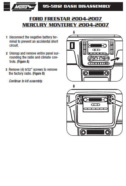 2007 Ford Freestyle Radio Wiring Diagram Exterior Lights Wiring Diagram 1996 Ford Ct90 Corolla Waystar Fr