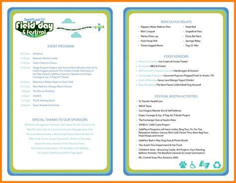 Wedding Ceremony Program Template   shatterlion.info