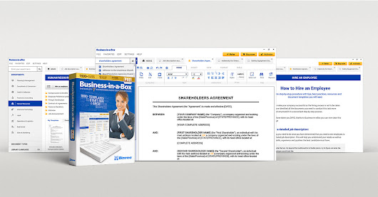 Business-in-a-Box - The World's #1 Business & Legal Document Templates Software