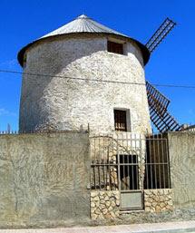 Un molino de Fuente-Álamo.