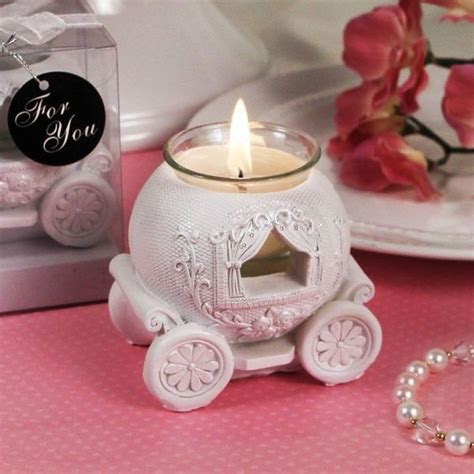 50 Cinderella Carriage Candle Holder Wedding Favor Party