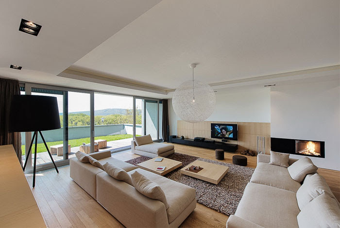 Elegant Interior of a Duplex Apartment - InteriorZine