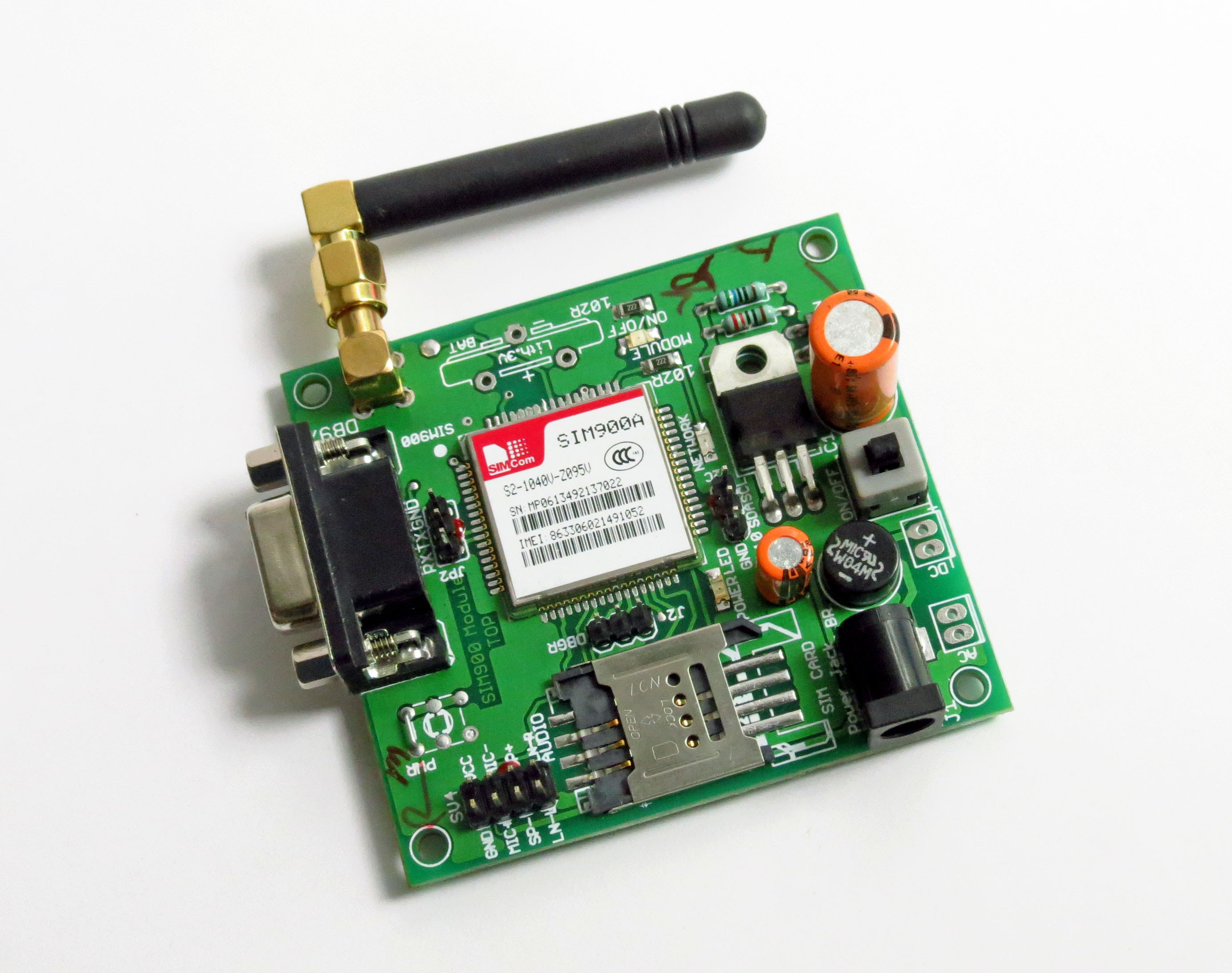 Gsm Module and 8051