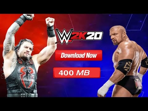 [UPDATED] HOW TO DOWNLOAD WWE2K20 for PPSSPP ANDROID.