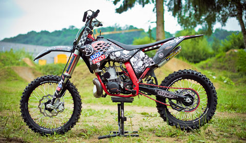 FORTY8 BIKETECH with Christian Kleiner - FMX Bike of the month October/November 2014