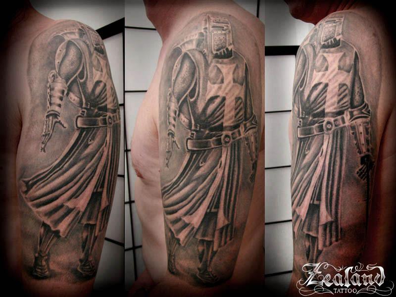 Black Grey Tattoo Gallery Zealand Tattoo
