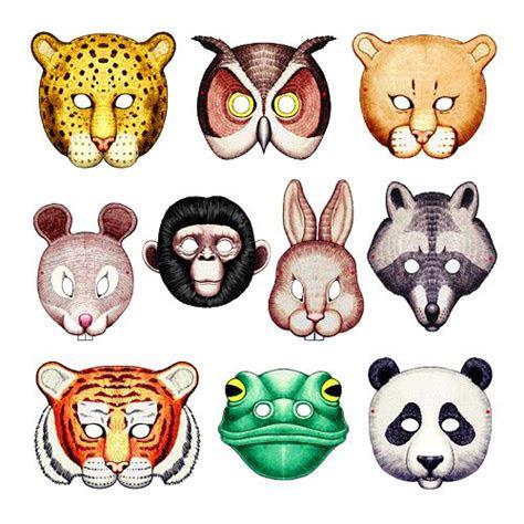 image detail  printable animal masks