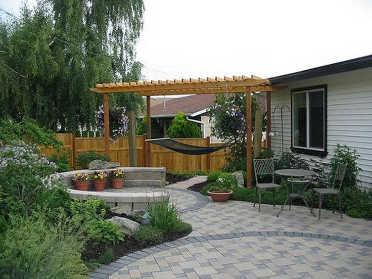 Small Backyard Landscaping Ideas | For my patio | Pinterest