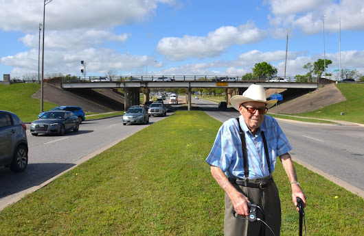 Hanover honored on golden anniversary of University Drive underpass