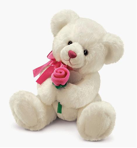 Stuffed Animals Images Teddy With Rose Wallpaper And Background