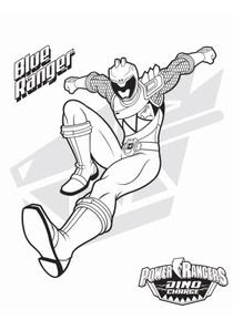 Coloriages Power Rangers Dinocharge à Imprimer Coloriages Dessins