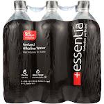 Essentia Hydration Perfected Drinking Water - 9.5 ph. - 1 Liter -PACK 2