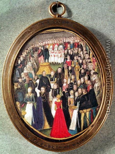 An Elizabethan Maundy Ceremony, c.1560 - Lievine Teerlink